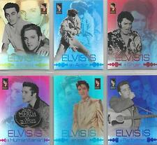 Elvis Is - Set of 6 Foil Board Chase Cards #EI1-6