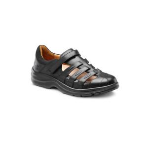 Dr Comfort Breeze Medical grade Footwear Black 7.5 AU