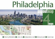 Philadelphia Popout Map by COMPASS MAPS