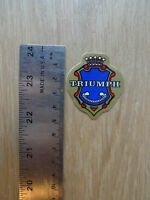 VINTAGE BIKE BICYCLE TRIUMPH STICKER HEAD BADGE NOS