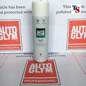 12 X Autoglym Glass Spray Aerosol (car/home glass plastic acrylic perspex)