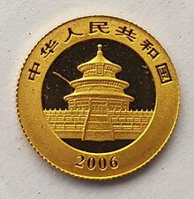 2006 CHINESE GOLD 1/20th OUNCE PANDA 20 YUAN - STILL SEALED