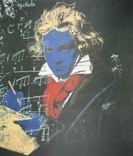 Andy Warhol, Beethoven, Plate Signed Lithograph