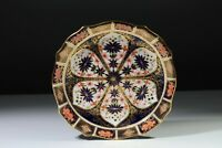 "Royal Crown Derby Old Imari 1128   Cake Plate - 9"" hexagonal"
