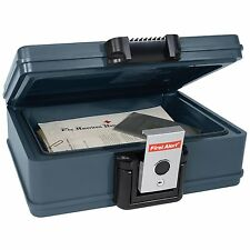 Fire Proof Safe Waterproof Box Chest Portable Jewelry Cash Security Safety Steel