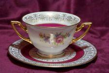 Ovington Brothers ( Ovington's ) Antique Bouillon Cup and Saucer Thomas Bavaria