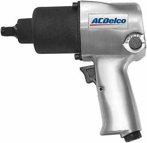 """ACDelco Heavy Duty Twin Hammer 1/2"""" 500 ft-lbs. Air Impact Wrench Tool ANI405A"""