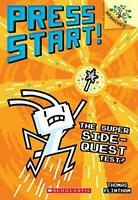 The Super Side-Quest Test! (Press Start!) by Flintham, Thomas, NEW Book, (Paperb