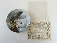 1st Wonder of Childhood Series TOUCHING THE SKY ~ BOY IN RAIN COLLECTOR PLATE