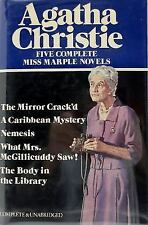 Five Complete Miss Marple Novels, Agatha Christie, Good Condition, Book