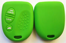 GREEN SILICONE KEY COVER for HOLDEN COMMODORE VS VT VX VY VZ WH WK WL