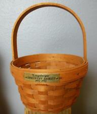 """Vintage Longaberger Basket Discovery 5 x 8"""" with all Paperwork"""