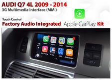 Audi Q7 4L 2009 - 2014 3G MMi Audio Integrated Touch screen Apple CarPlay Kit