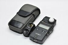 [NEAR MINT in CASE] MINOLTA FLASH METER IV w/Viewfinder 5 From JAPAN #913