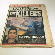New York Daily News The Killers terrorists 911  Sep 20 2001