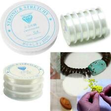 Pulsera de Cordón Elástico Elástico Cuentas Hilo Cadena para joyería haciendo 0.4 - 1.0