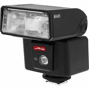 Brand New Unused Metz Mecablitz M400 Flash Light Unit Pentax P-TTL
