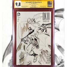 DARK KNIGHT III: THE MASTER RACE #1 CAMPBELL B&W VARIANT COVER CGC 9.8 SS RARE