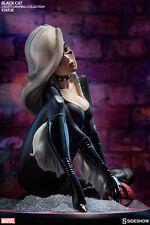 SIDESHOW MARVEL SPIDER-MAN BLACK CAT J. SCOTT CAMPBELL STATUE ~BRAND NEW~