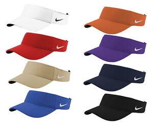 Nike Dry Dri-FIT Swoosh Visor Men's Adjustable Strapback Cap Golf Hat - New 2021