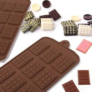 Mini Chocolate Block Bar Silicone  Mould Mold Ice Tray Cake Decorating Tool