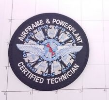 Airframe & PowerPlant Certified Technician Patch