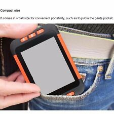 "32X 3.5"" LCD Portable Video Magnifier Reading Aid Multiple Color Mode Low Vision"