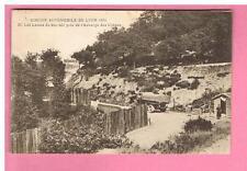 CPA - CIRCUIT AUTOMOBILE DE LYON 1924  LES LACETS DU BEL AIR  AUBERGE DES CHÊNES