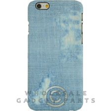 Apple iPhone 6/6s Candy Skin Faded Blue Jeans Guard Shield Cover Shell Case