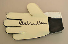 Bob Wilson Signed Goalkeeper Glove Arsenal Goalie Autograph Memorabilia + COA