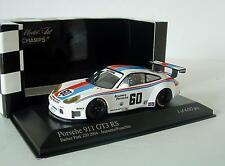 Minichamps 1/43 Porsche 911 GT3 RS Barber Park 250 2004 #60 Jeannette Franchitti