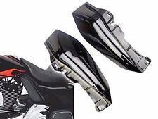 Black Mid Frame Air Deflector Trim For Harley Touring Street Glide FLHX 09-16