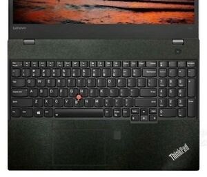 2-pack matte black Palmrest Vinyl Sticker for Lenovo T490 T490S T480S T590 T15
