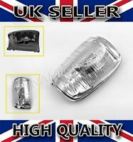 DOOR WING MIRROR INDICATOR LENS CLEAR LEFT N/S FOR FORD TRANSIT MK8 2014 ONWARDS