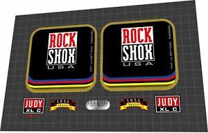 ROCKSHOX Judy XL C 1998 Fork Decal Set