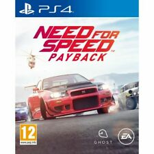 Need For Speed PayBack PS4 PlayStation 4 Video Game Mint Condition UK Release