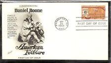US SC # 1357 Daniel Boone FDC. Fleetwood Cachet