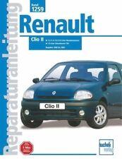 Renault Clio II 2 Reparaturanleitung ab 1998 -PORTOFREI - 9783716820254