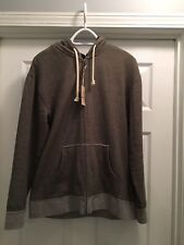 Bass Pro Red Head Zip  Hoodie w Pocket Green Olive/Grey  Men's Small New