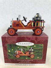 Hallmark Keepsake Ornament Kiddie Car Classics Series 1924 Toledo Fire Engine #6