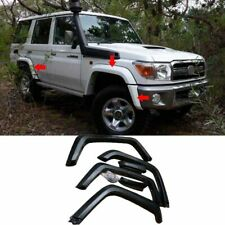 For Toyota Land Cruiser LC70 75 76 77 FJ79 Fender Flares Wheel Arch Unpainted 6x