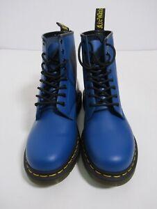 Dr Martens Unisex 1460 Leather Ankle Boot Blue Romario Size 10 US / 11 US L