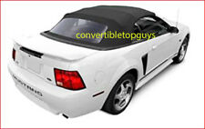 FORD MUSTANG CONVERTIBLE TOP 1994-04. WHITE SAILCLOTH .1 piece top
