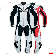 Tuta per mini minimoto moto in pelle bimbo ragazzo 10 o 12  anni rossa o bianca