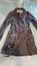 very rare DKNY Ladys' Denim Coat Size: Large in VERY GOOD Condition