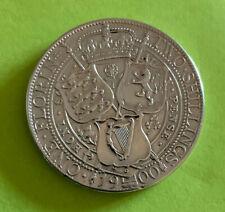 More details for 1900 queen victoria  silver florin coin