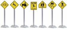 Lionel Trains O Warning Street Sign Pack (12)