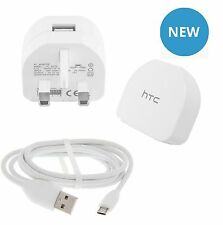 Original Htc Tc B270 Red charger+micro Cable Usb Para deseo uno M8 M7 610 310