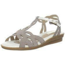 Beautifeel Thea Taupe and White Nubuck Sandals 41 10