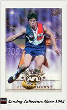 2003 Select AFL XL Ultra Rising Star Nominee RSN1 Paul Medhurst (Fremantle)